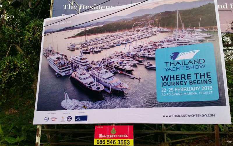 Real-photo product: Thailand Yacht Show