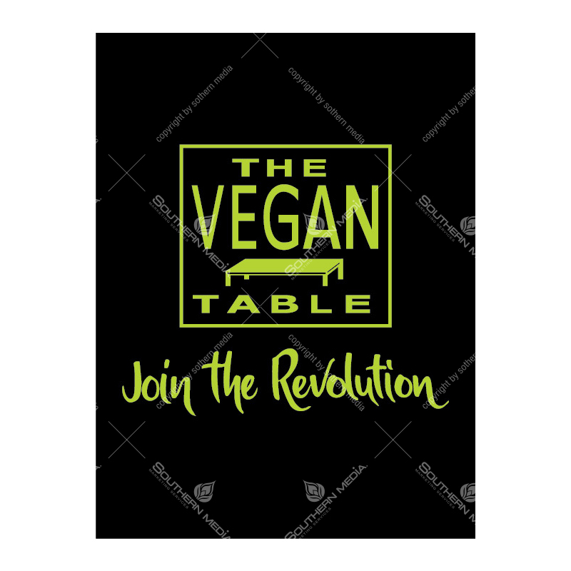 Artwork product: The Vegan Table