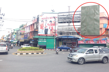 Billboard for rent in zone Muang-Nakhon-Si-Thammarat