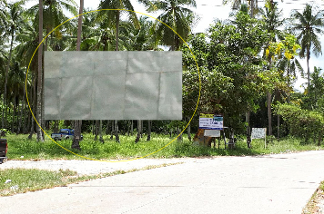 Billboard for rent in zone Koh-yao