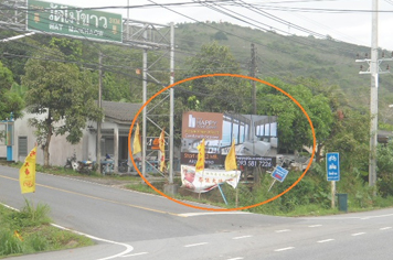Billboard for rent in zone Maikhao