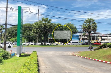 Billboard for rent in zone Thalang