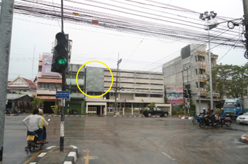 Billboard for rent in zone Muang-Songkhla