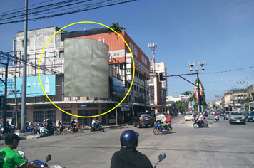 Billboard for rent in zone Muang-Yala